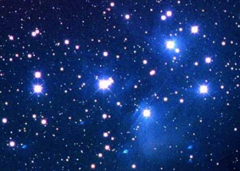 六連星のプレアデス星団