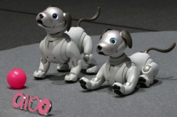 ソニー製AIBOロボット