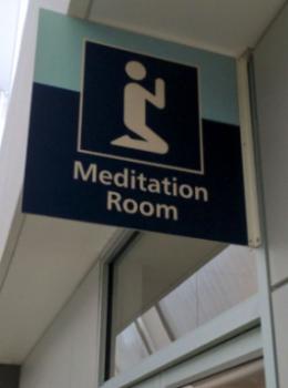 瞑想ルーム