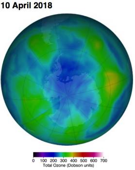 オゾン層の穴