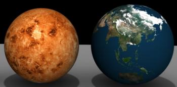 金星と地球